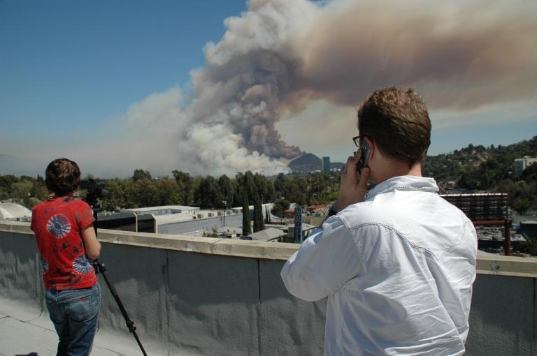 View near Carpenter/Ventura, Studio City, CA. 3/30/07