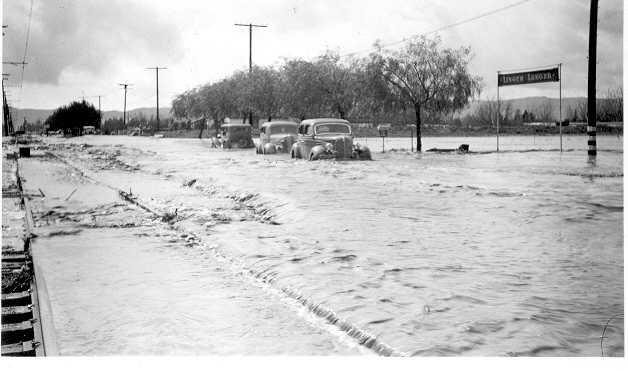Van Nuys Blvd. 1938 flood