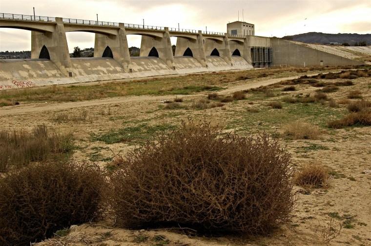 Sepulveda Dam January 1, 2008