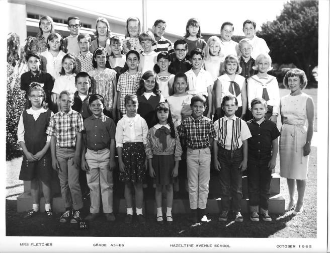 Mrs. Fletcher, Hazeltine Elementary School, Van Nuys, CA