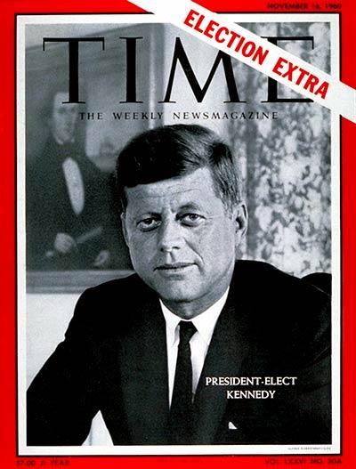 President Elect Kennedy