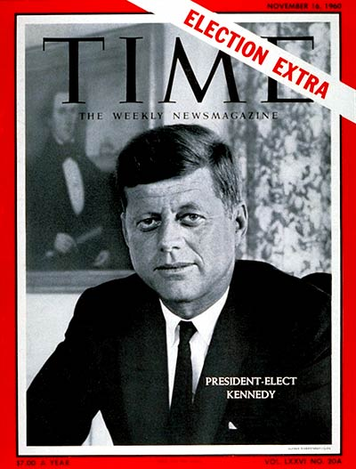 President Elect Kennedy