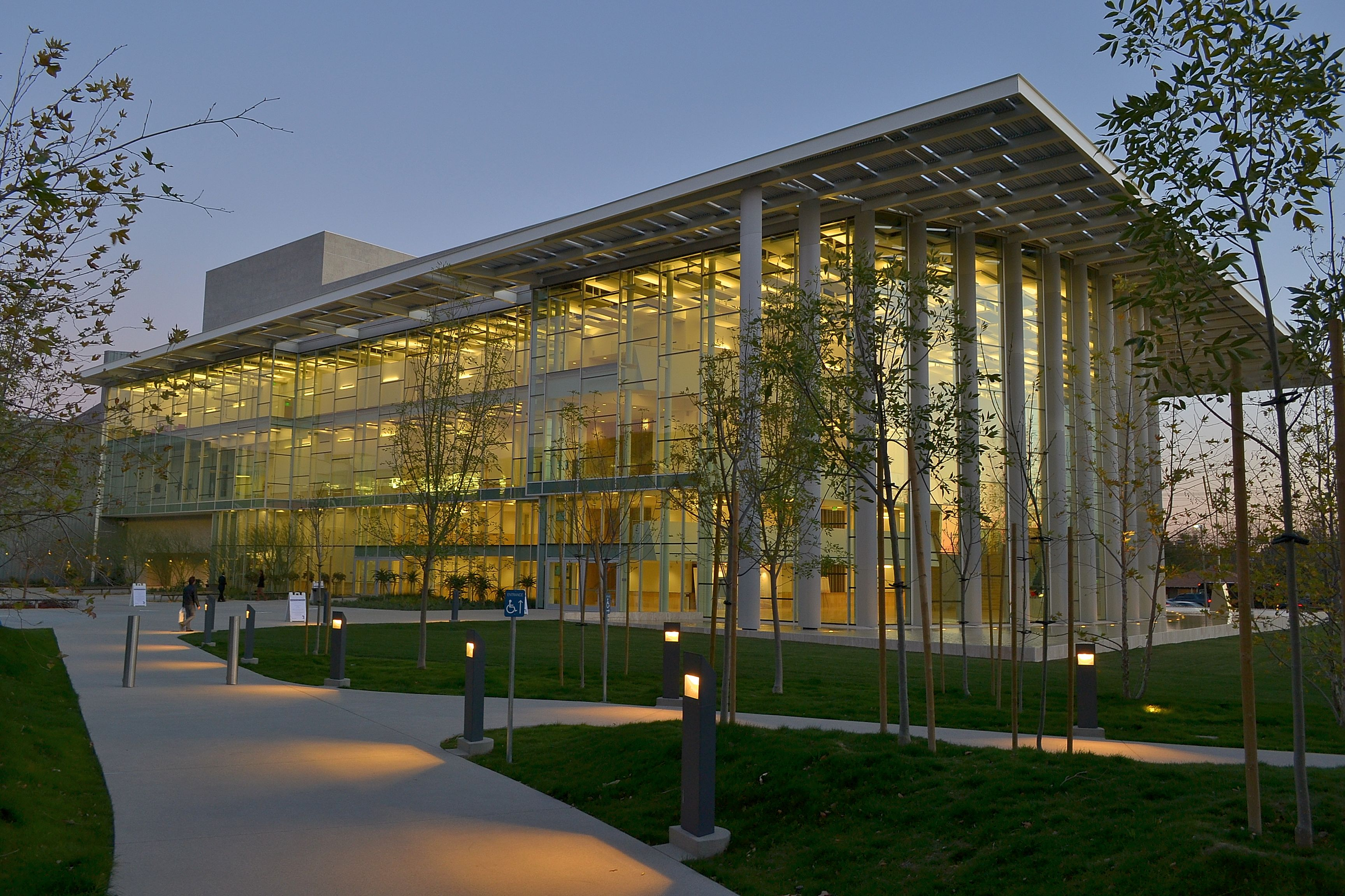 Valley Performing Arts Center At Csun Here In Van Nuys