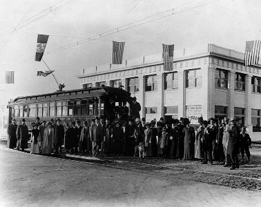 California Bank Van Nuys Blvd/Sylva (circa 1925)