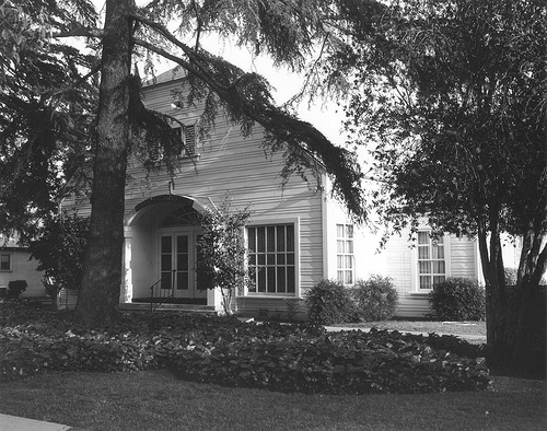 Old Van Nuys Women's Club (14852 Sylvan near Kester).  Now Eglesia de Jesuschristo.