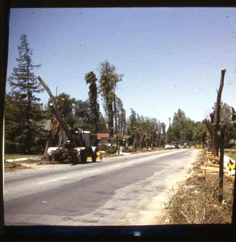 Widening of Victory Boulevard: 1954.