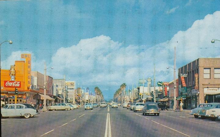 Van Nuys Blvd. Early 1950s