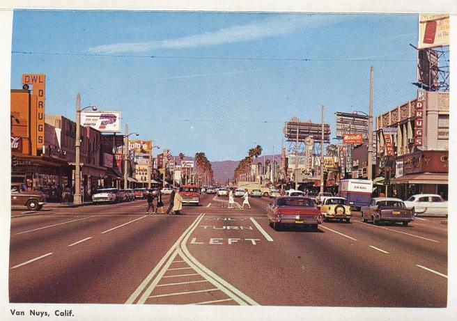 Van Nuys circa 1960