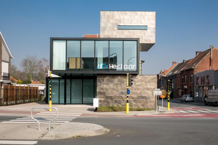 Location Belgium Roeselare/Office building HECTAAR - Photographer: Thomas De Bruyne – Cafeine