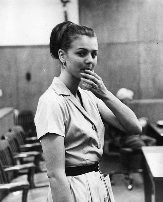 10/8/64: Actress daughter sentenced to 30 days in jail for drunk charge.