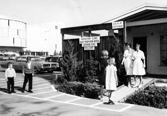 11/20/64: Valley Presbyterian Hospital, Van Nuys, CA. Out patient clinic.