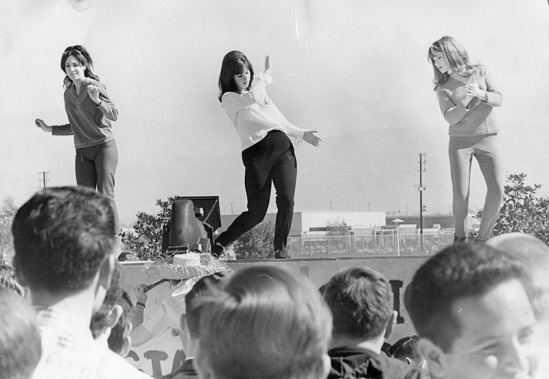 2/19/65: Motion Picture Club Camera's Dancers at Valley College.