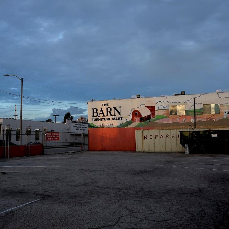 The Barn (in back)