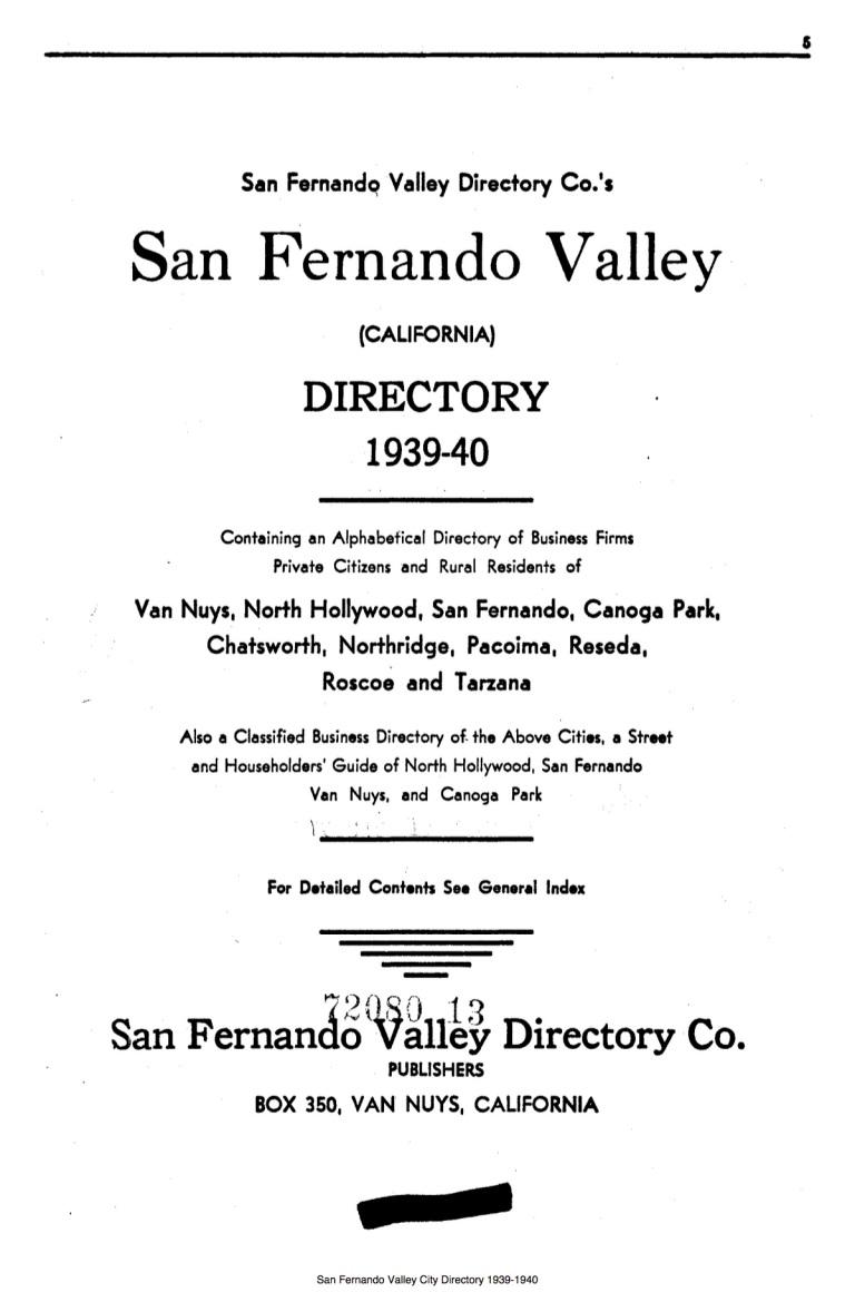 SFV 1940