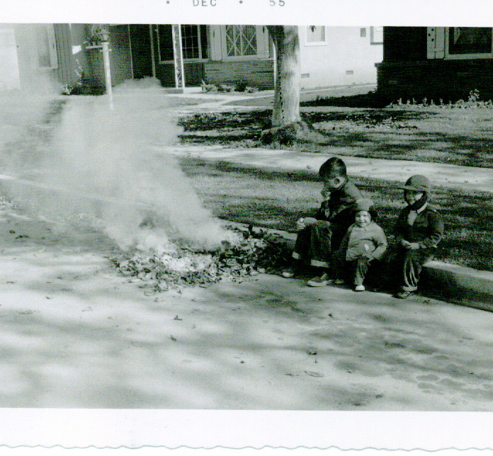 1955-dec-burningleaves