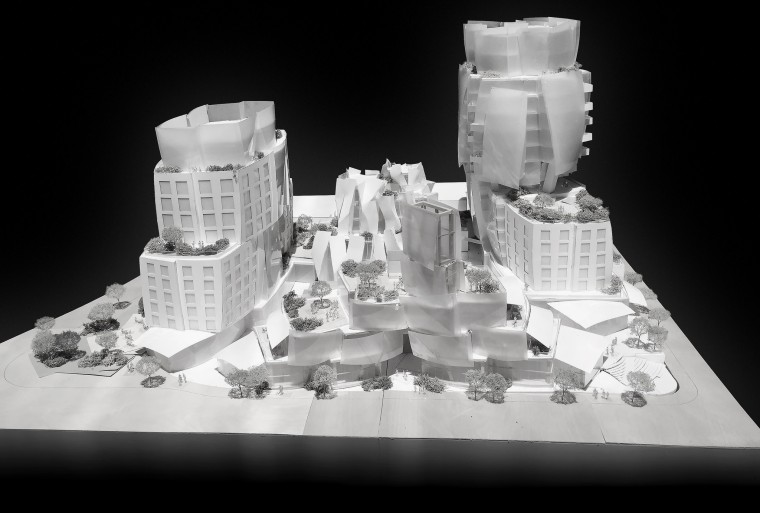 Proposed Frank Gehry design. (LA TIMES)