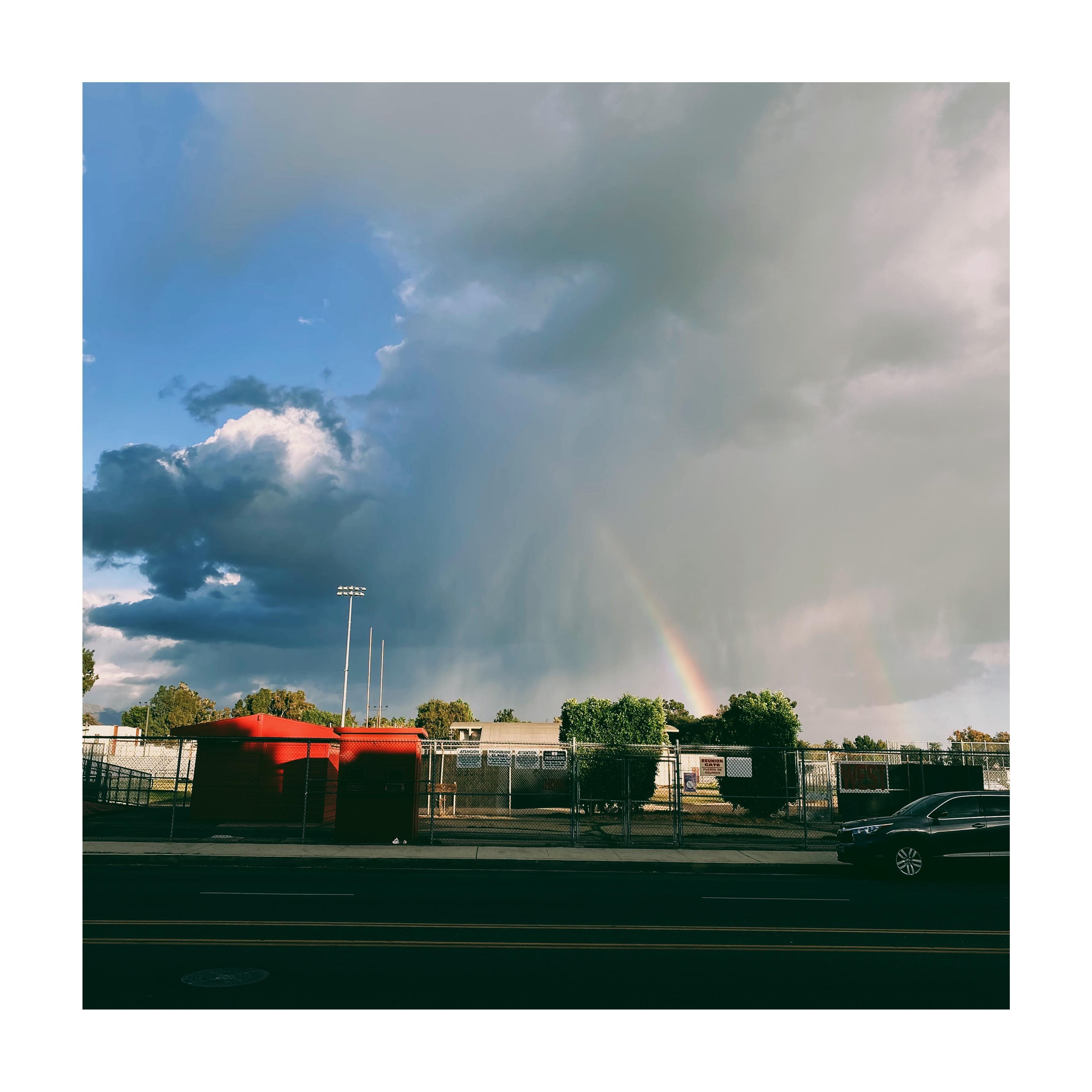 Rainbow Over Van Nuys High School